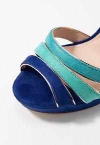 Menbur - High Heel Sandalette - dazzling blue - 2