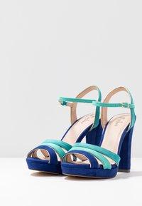 Menbur - High Heel Sandalette - dazzling blue - 4