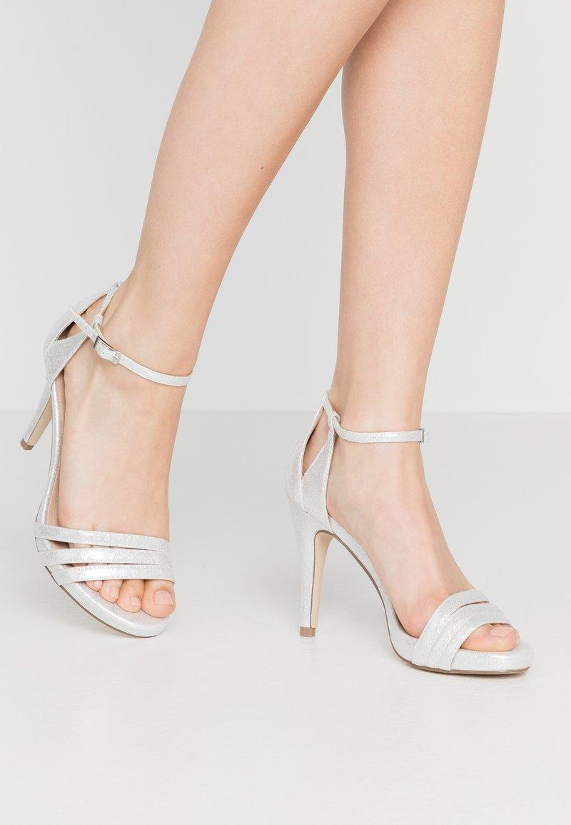 Menbur - High Heel Sandalette - silver