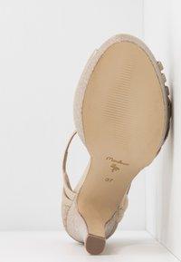Menbur - Peeptoe heels - gold - 6