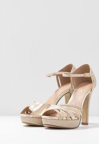 Menbur - Peeptoe heels - gold - 4
