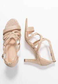 Menbur - Sandaler med høye hæler - stone - 3