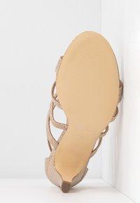Menbur - Sandaler med høye hæler - stone - 6