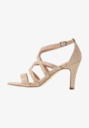 High Heel Sandalette - stone