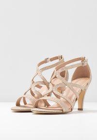 Menbur - Sandaler med høye hæler - stone - 4