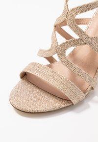 Menbur - Sandaler med høye hæler - stone - 2
