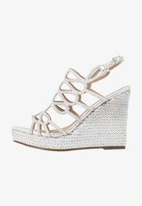Menbur - High Heel Sandalette - silver - 1
