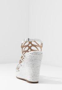 Menbur - High Heel Sandalette - silver - 5