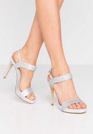 High Heel Sandalette - ivory