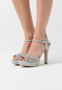 Menbur - High heeled sandals - silver - 0