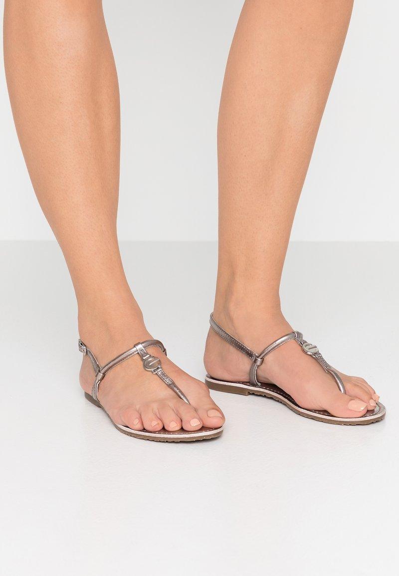 Mexx - CINAR - T-bar sandals - pewter