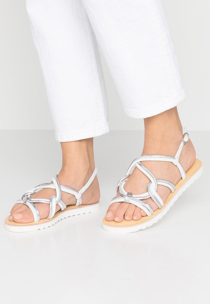Mexx - CILIA - Sandals - white/silver