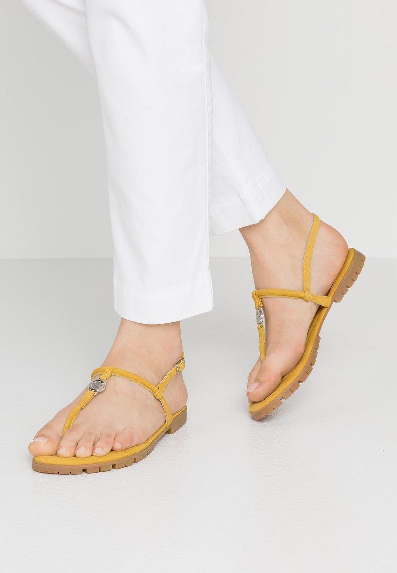 Mexx - CHRISTA - T-bar sandals - yellow