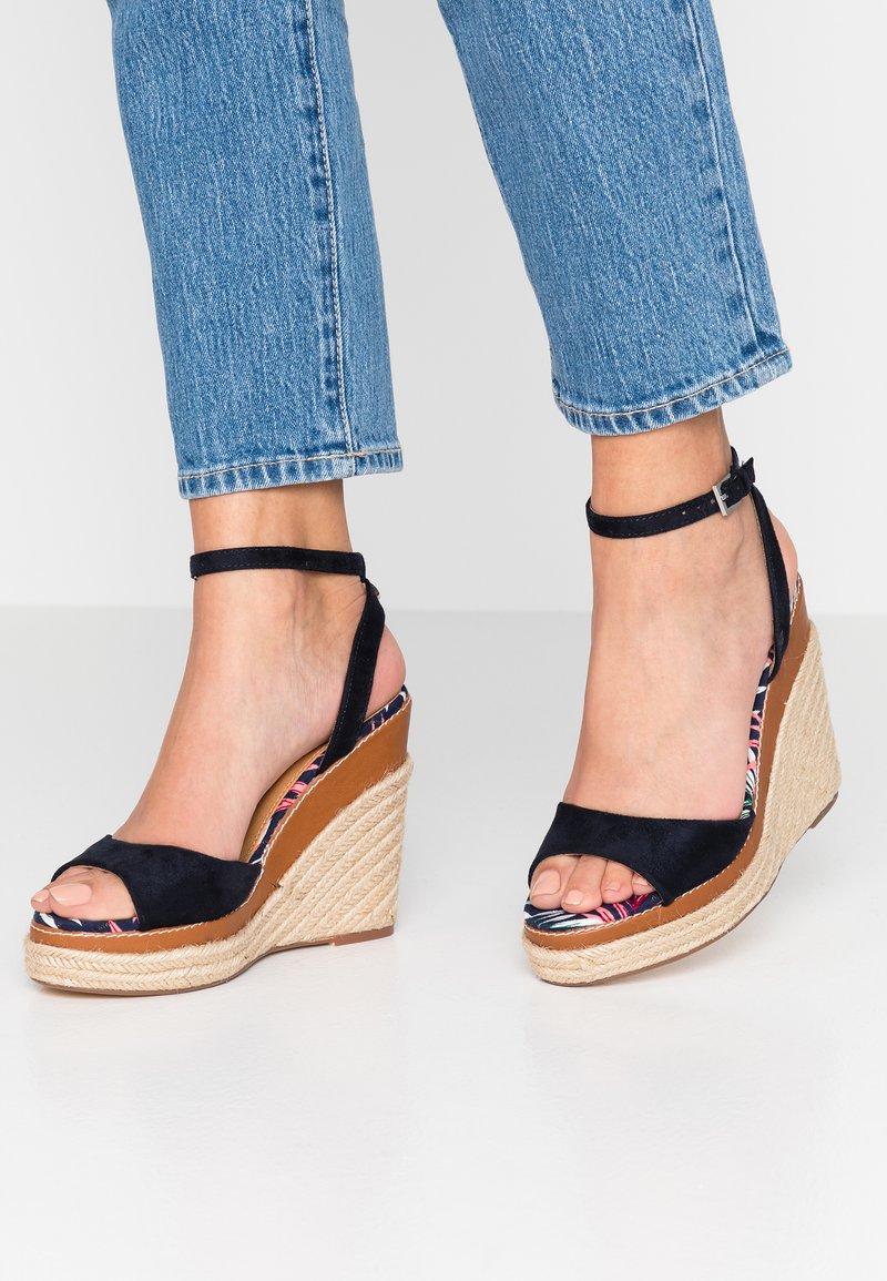Mexx - CARESSA - High heeled sandals - navy