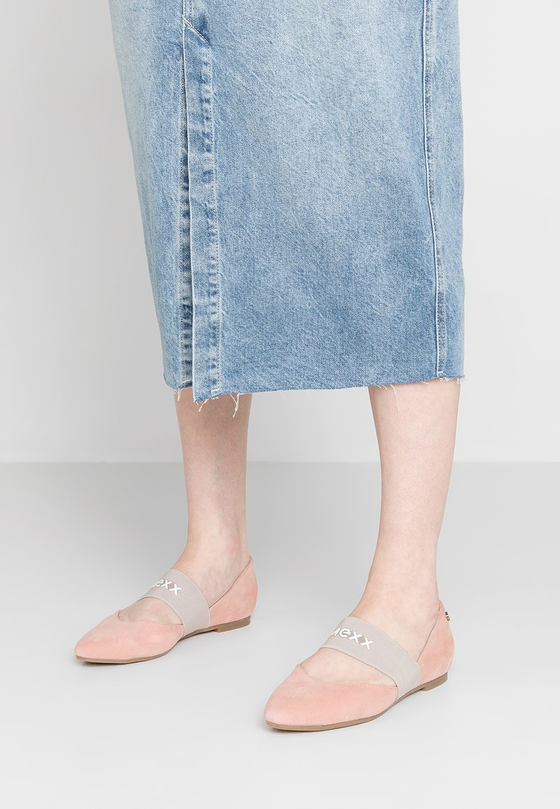 Mexx - CATARINA - Ankle strap ballet pumps - blossom