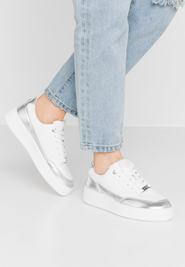 ELIZA - Sneaker low - white/silver