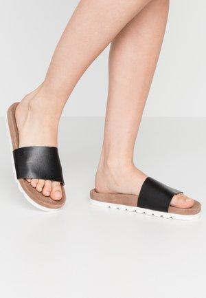 EBBA - Pantofle - black