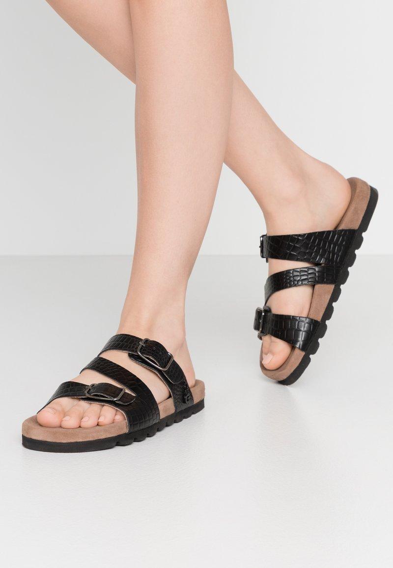Mexx - ELMIRA - Domácí obuv - black