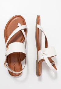 Mexx - EVELINN - Sandály s odděleným palcem - white - 3