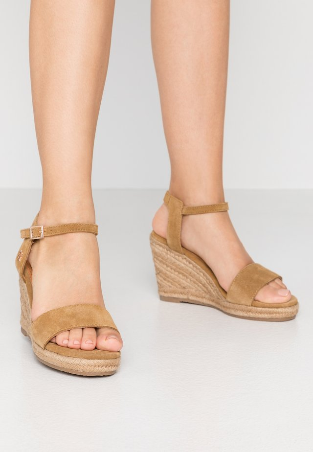 ESTELLE - High heeled sandals - tan