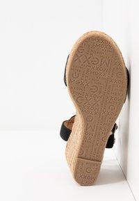 Mexx - ESTELLE - Sandály na vysokém podpatku - black - 6