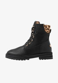 Mexx - DELANA - Šněrovací kotníkové boty - black - 1