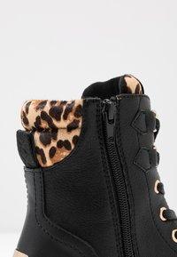 Mexx - DELANA - Šněrovací kotníkové boty - black - 2