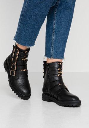 DIDO - Kovbojské/motorkářské boty - black