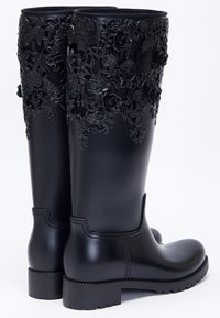 Melissa - FLOWER - Cowboy/Biker boots - black - 3