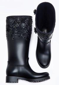 Melissa - FLOWER - Cowboy/Biker boots - black - 4