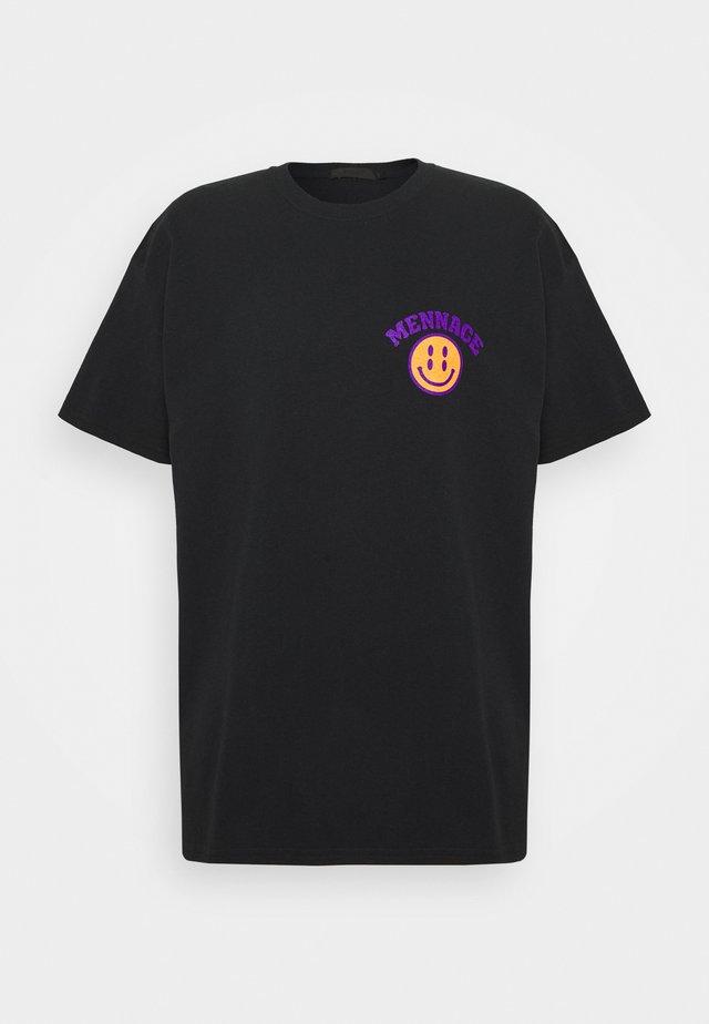 UNISEX MENNACE TWISTED  - T-shirt print - black