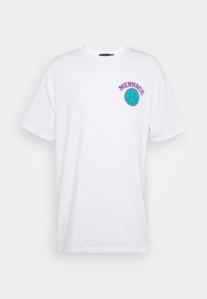 UNISEX SS MENNACE TWISTED  - T-shirt print - white