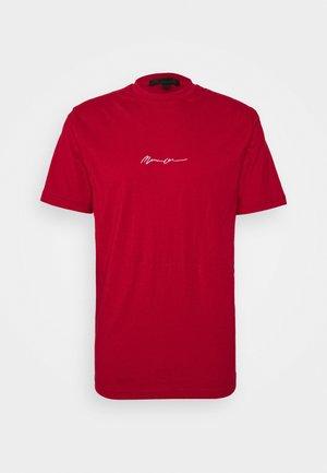 UNISEX ESSENTIAL SIGNATURE - T-shirt basique - tomato red