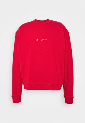 UNISEX ESSENTIAL SIGNATURE BOXY - Sweatshirt - tomato red
