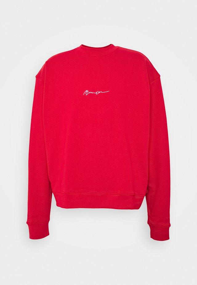 UNISEX ESSENTIAL SIGNATURE BOXY - Sweatshirt - tomato red