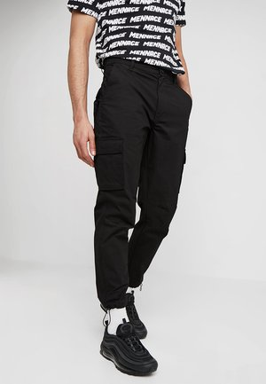 RIPSTOP UTILITY TROUSER - Pantaloni cargo - black