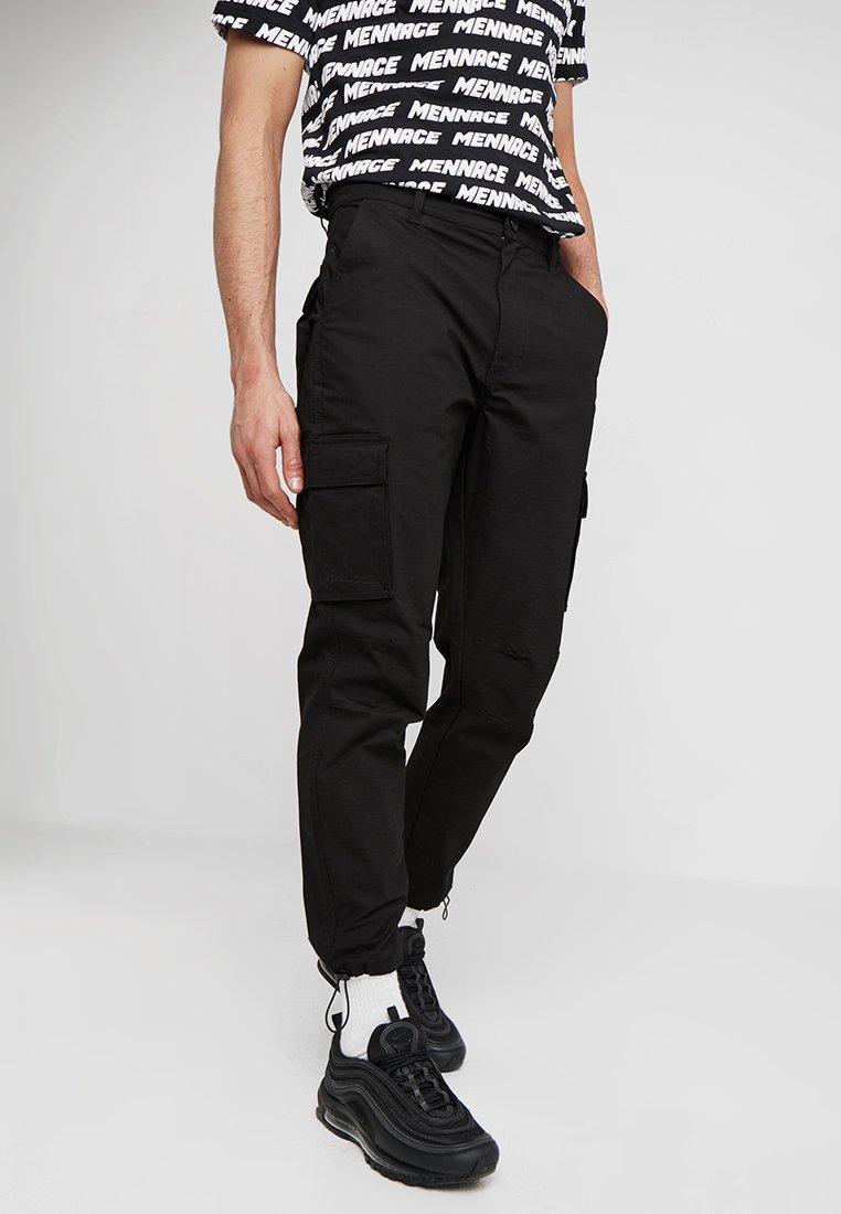 Mennace - RIPSTOP UTILITY TROUSER - Pantalon cargo - black