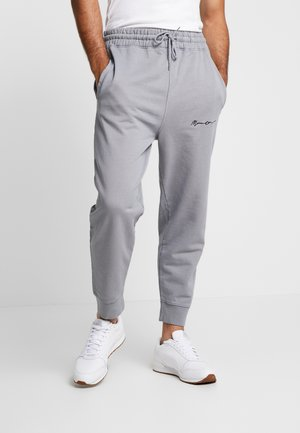 REGULAR SIGNATURE  - Pantaloni sportivi - slate