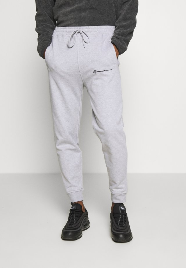 REGULAR SIGNATURE  - Joggebukse - grey