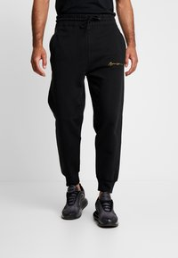 Mennace - REGULAR SIGNATURE  - Pantaloni sportivi - black - 0