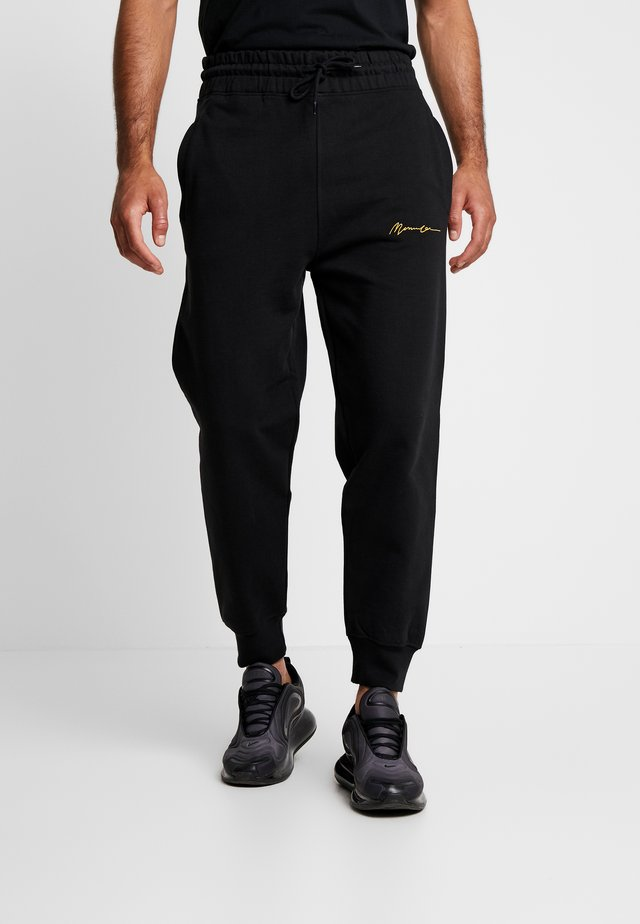 REGULAR SIGNATURE  - Joggebukse - black