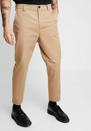 TAPERED  - Chinos - stone