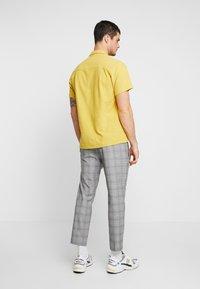 Mennace - POW CHECK SMART JOGGER - Kalhoty - grey - 2