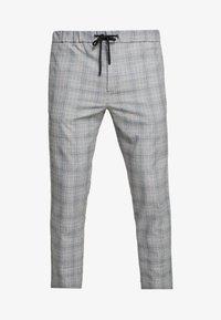 Mennace - POW CHECK SMART JOGGER - Kalhoty - grey - 4