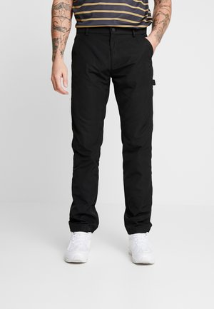 CUFFED CARPENTER - Cargo trousers - charcoal