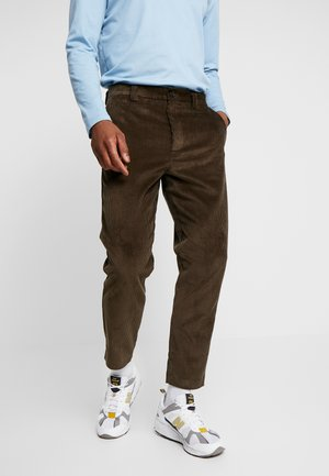 Trousers - deep khaki