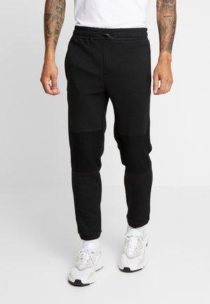 PANEL JOGGER - Teplákové kalhoty - black