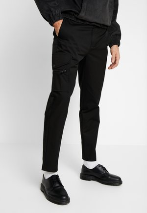 ONE  - Trousers - black