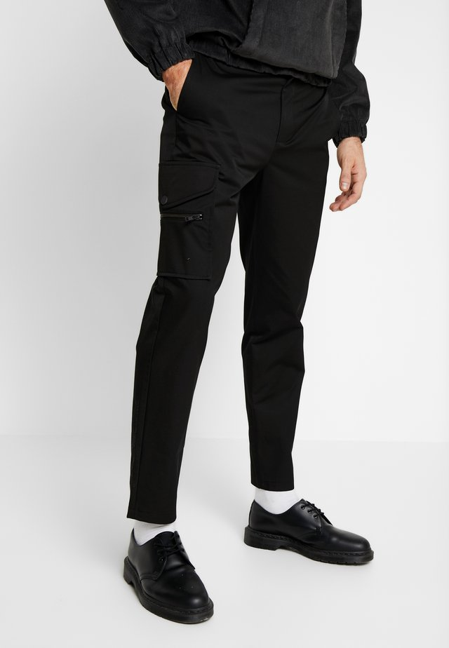 ONE  - Broek - black