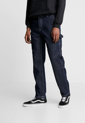 CONTRAST CARPENTER - Jeans straight leg - blue